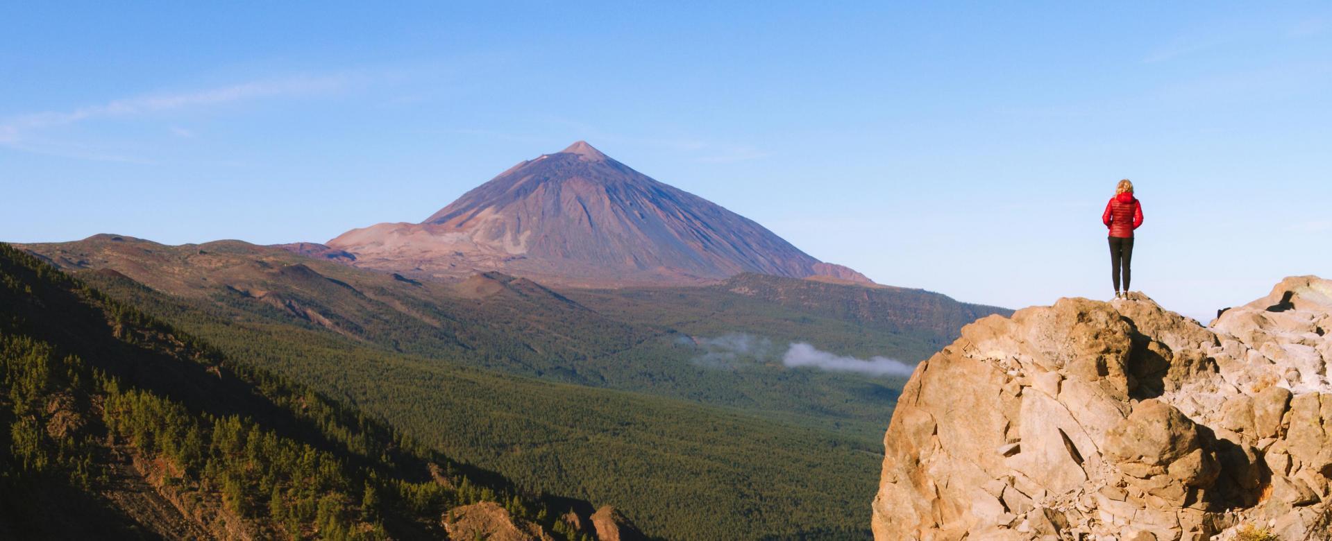 Voyage à pied : Les volcans de tenerife