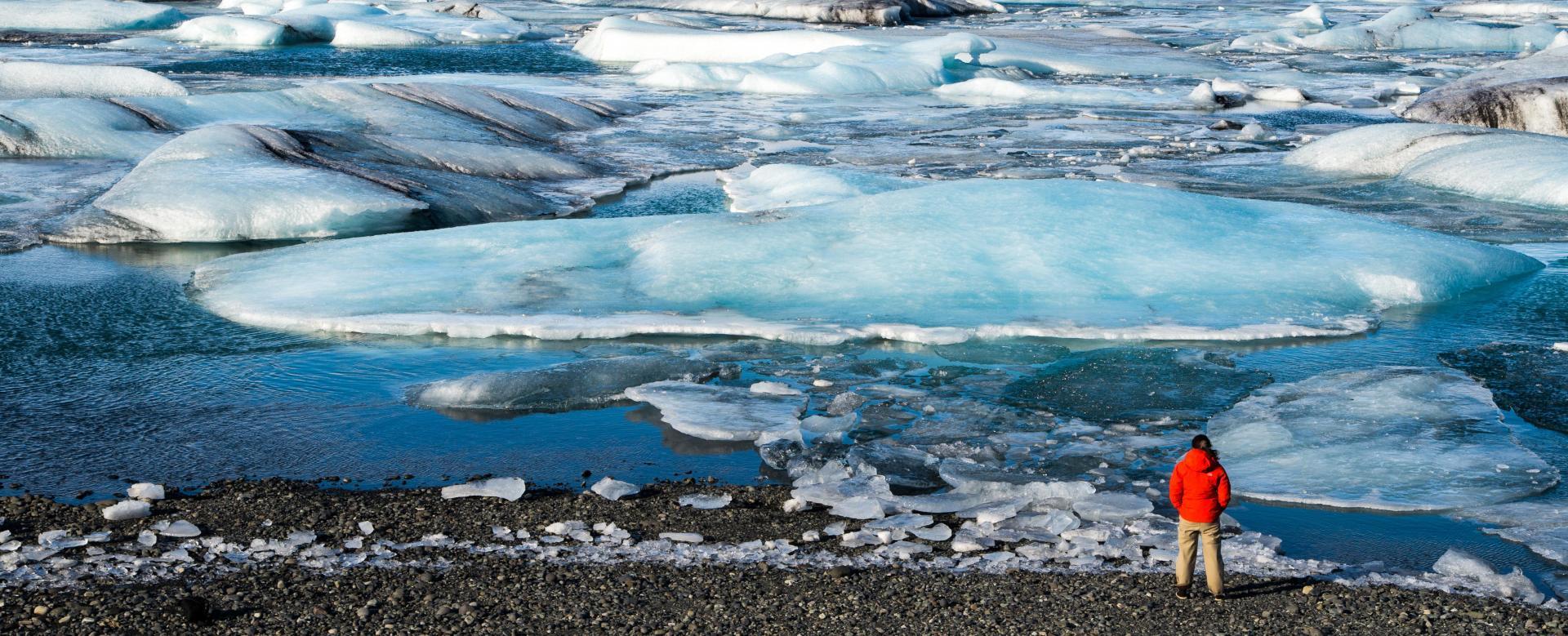 Voyage à pied : Volcans et glaciers
