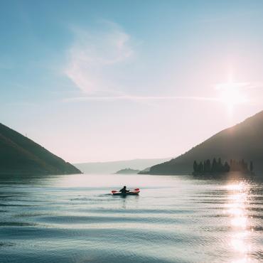 Rando-kayak en baie georgienne