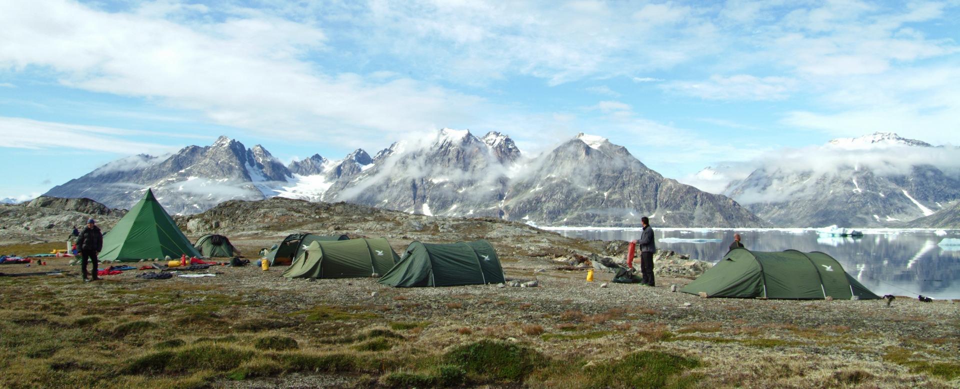 Voyage à pied : Le trek inuit