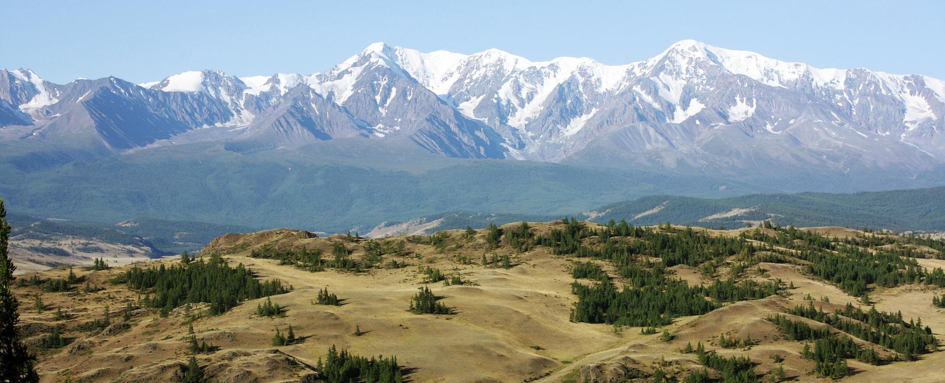 Voyage à pied Russie : Montagnes et steppes de l'altaï