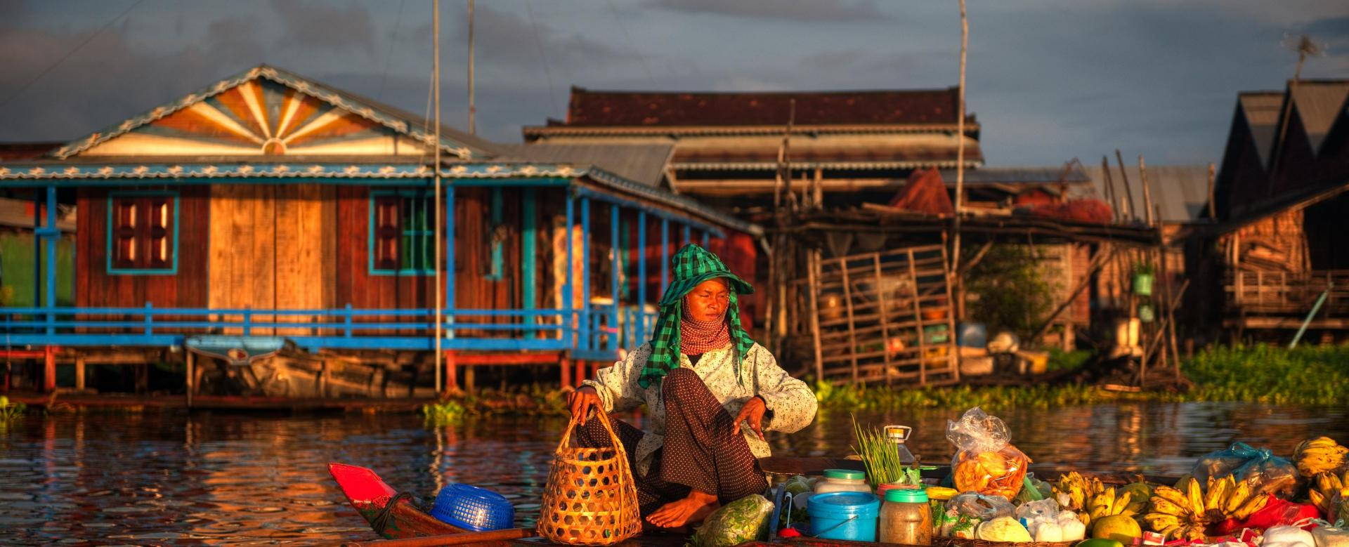 Voyage à pied : Au coeur du cambodge