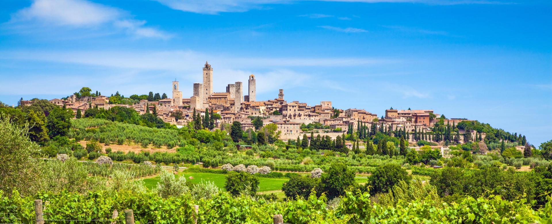 Voyage à pied Italie : Chianti et toscane du sud
