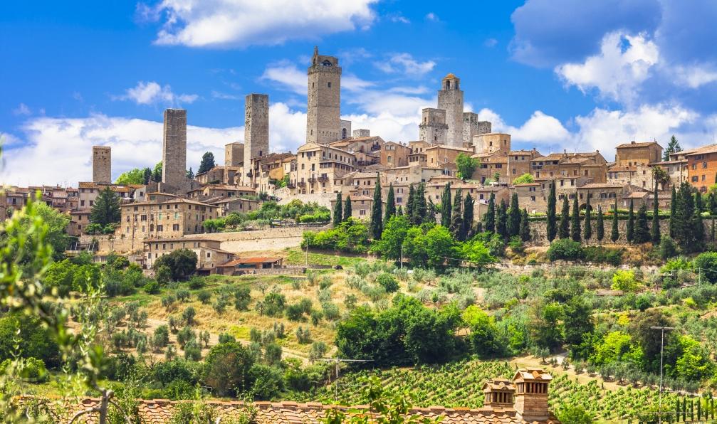 Image De florence à la toscane du sud