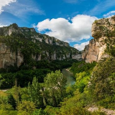 Les gorges du Tarn et Sainte-Enimie