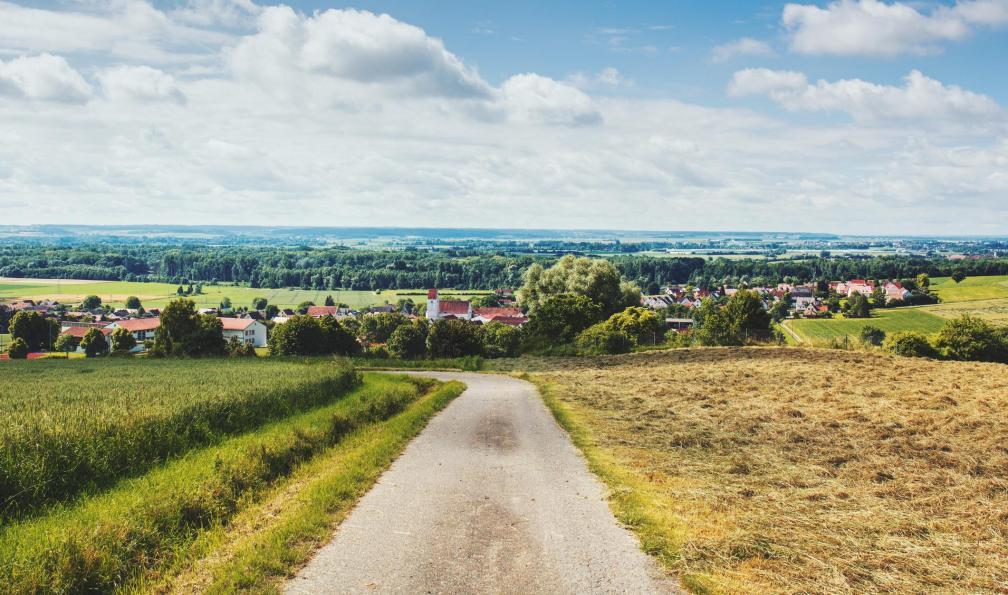 Image Le long du danube bavarois à vélo