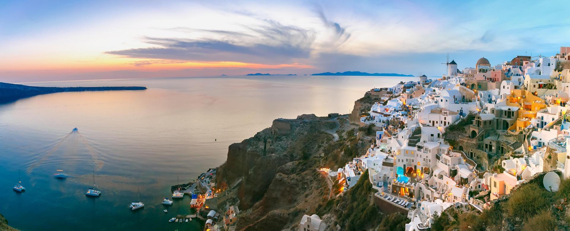 Voyage à pied Grèce : Santorin et sikinos