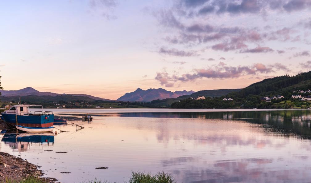 Image West highland way et île de skye