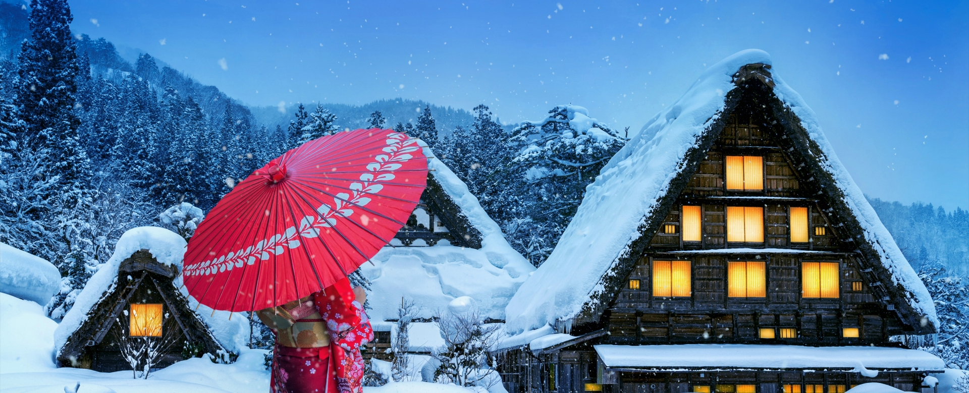 Voyage à pied : Féerie japonaise