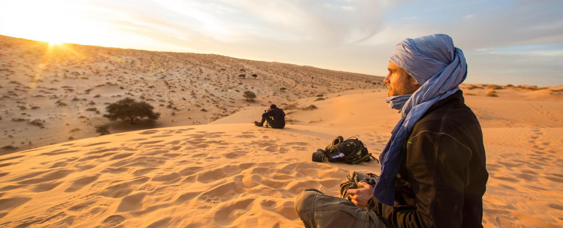 Voyage à pied Mauritanie : Grande traversée de ouadane à terjit
