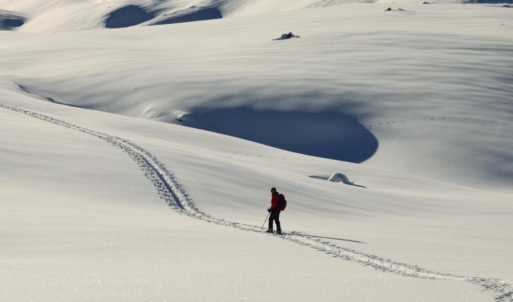 Image Traversée du queyras à ski