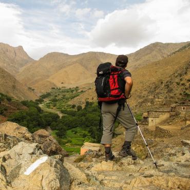 La haute route du Toubkal