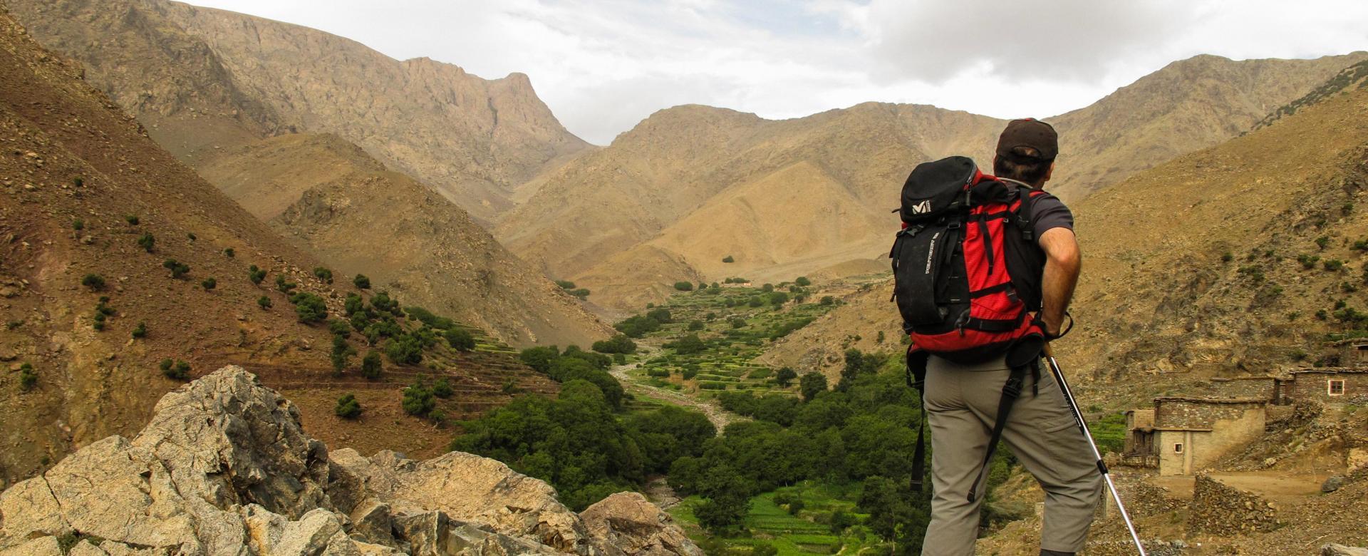 Voyage à pied : Haute route du toubkal