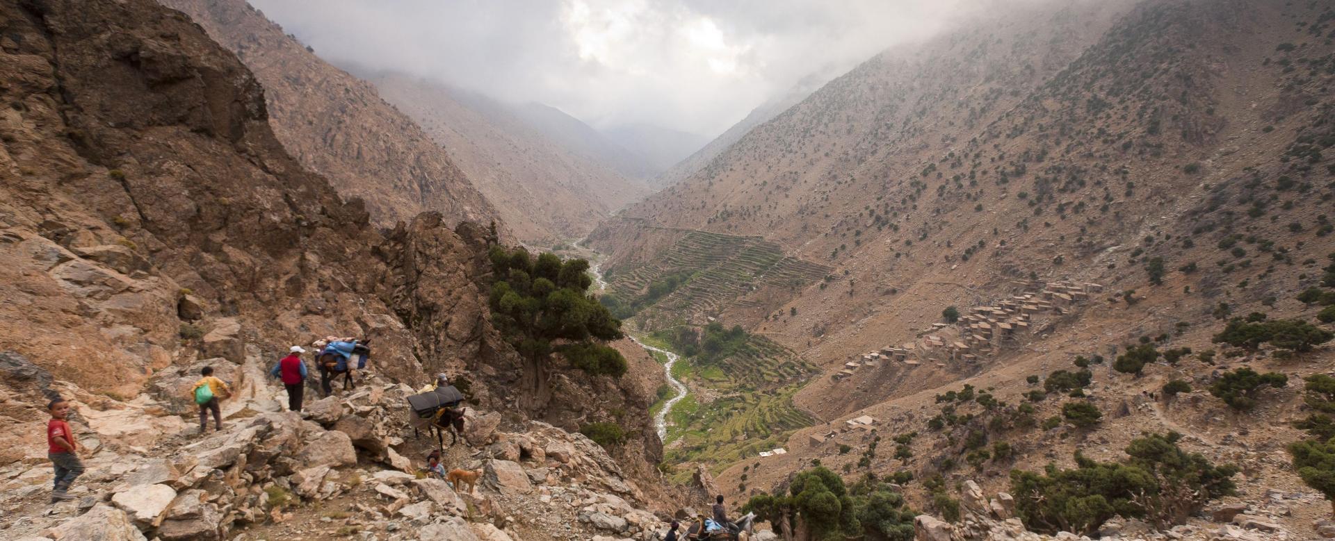 Voyage à pied : Le maroc des cimes