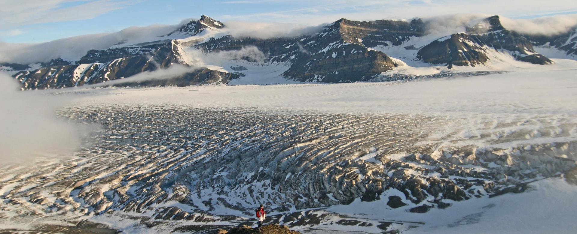 Voyage à pied : Svalbard, latitude nord
