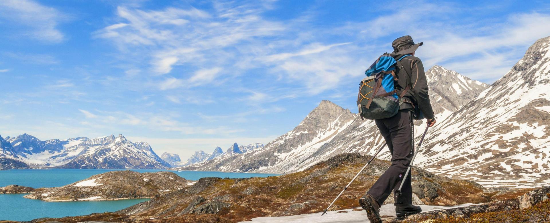 Trekking Groenland : Terre polaire