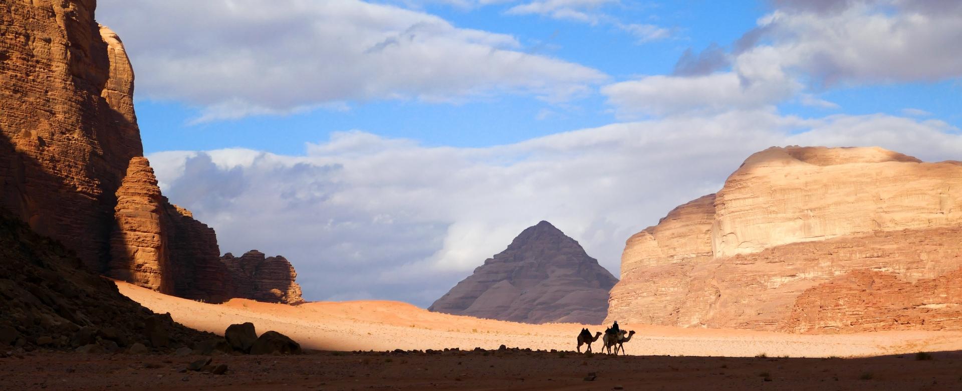 Voyage à pied : Wadi rum-pétra : piste nabatéenne oubliée