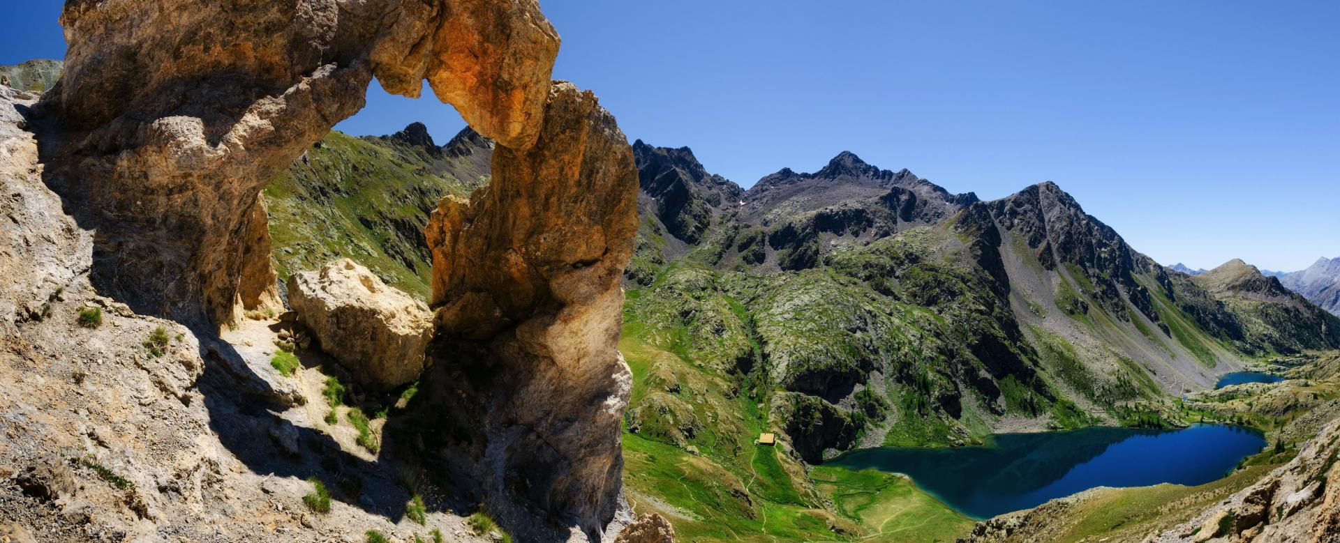 Voyage à pied France : Les plus beaux lacs de l'argentera