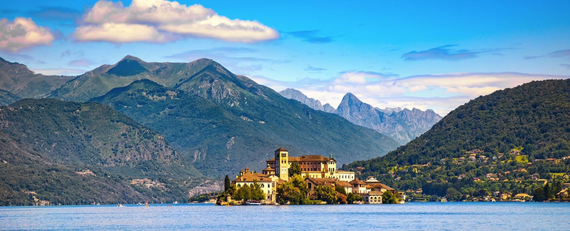 Voyage à pied : Les grands lacs italiens