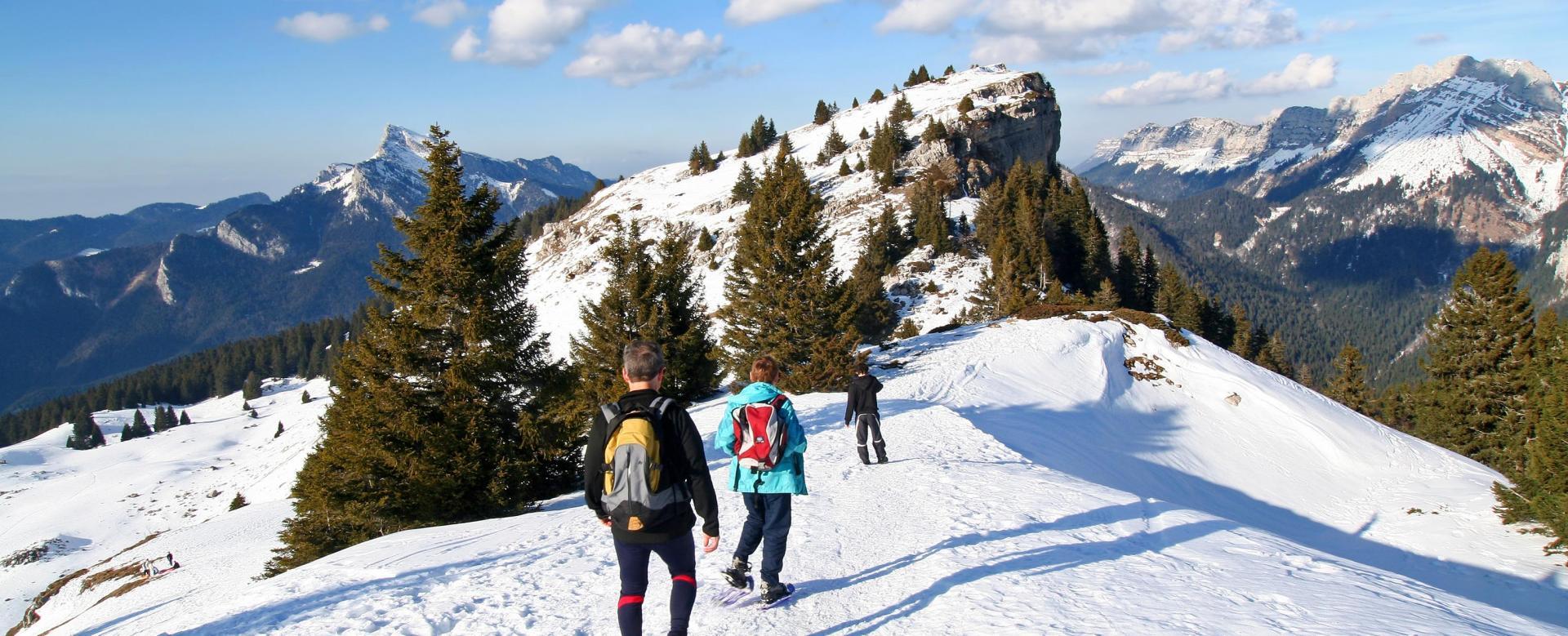Voyage à pied : Réveillon montagnard en chartreuse