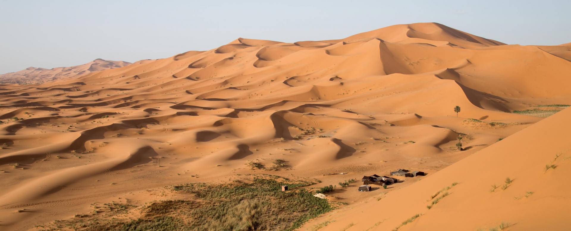 Voyage à pied Maroc : Sables infinis