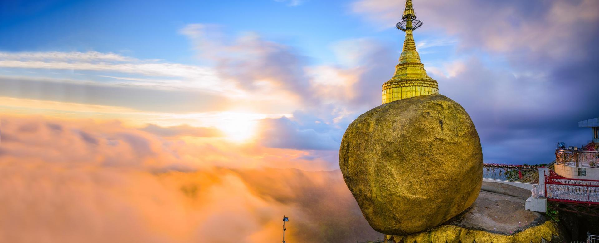 Voyage à pied : Birmanie : Temples du nord et rocher d\'or