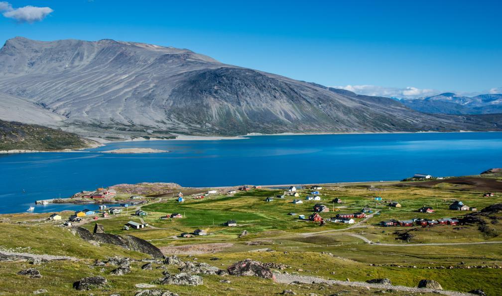 Image Fjords et villages du sud-groenland