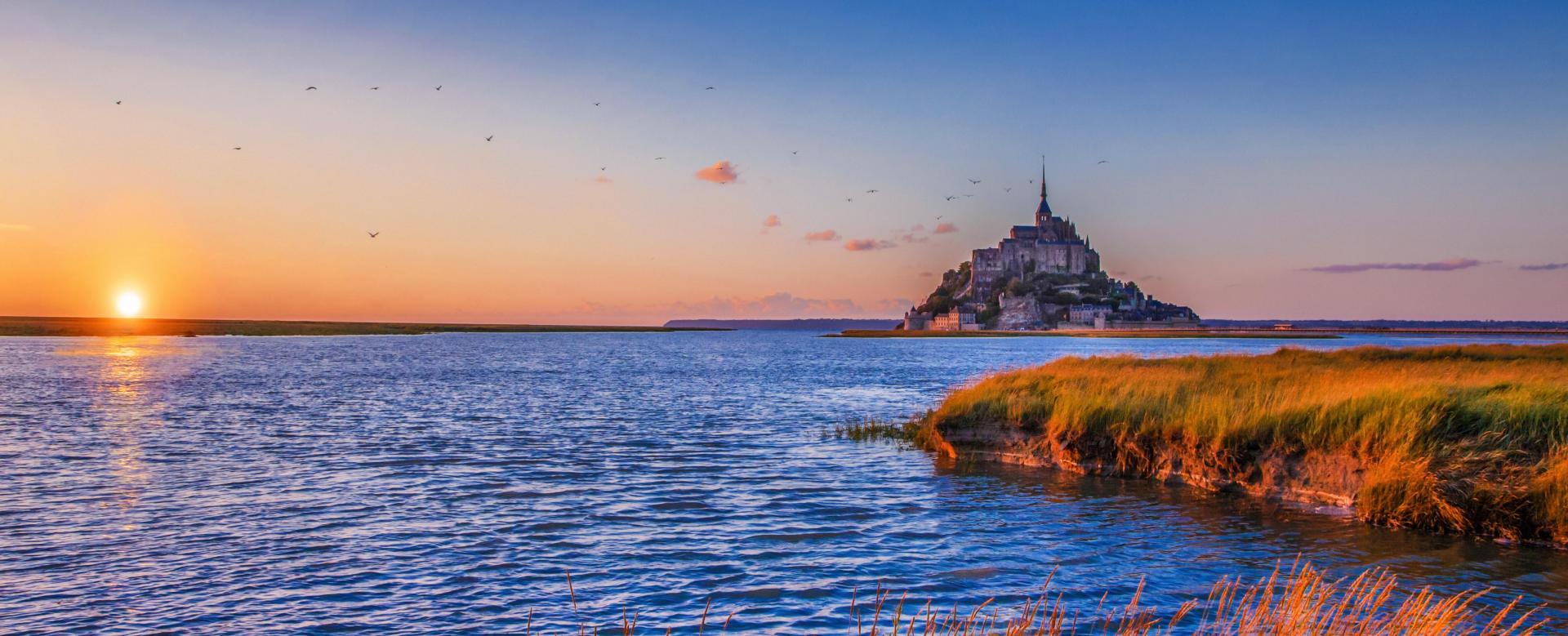 Voyage à pied : Réveillon dans la baie du mont-saint-michel