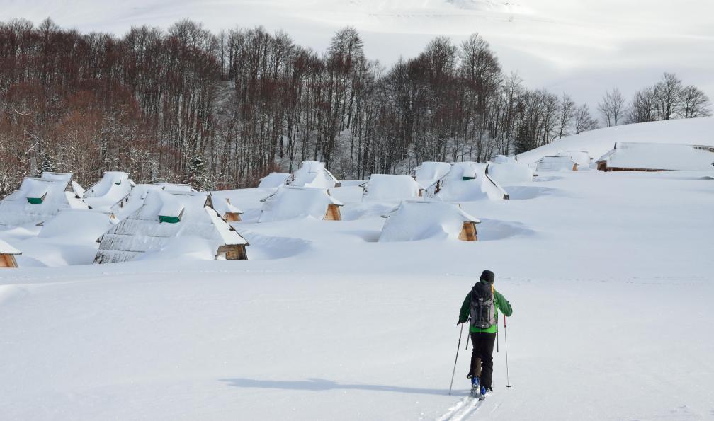 Image Ski de rando au monténégro