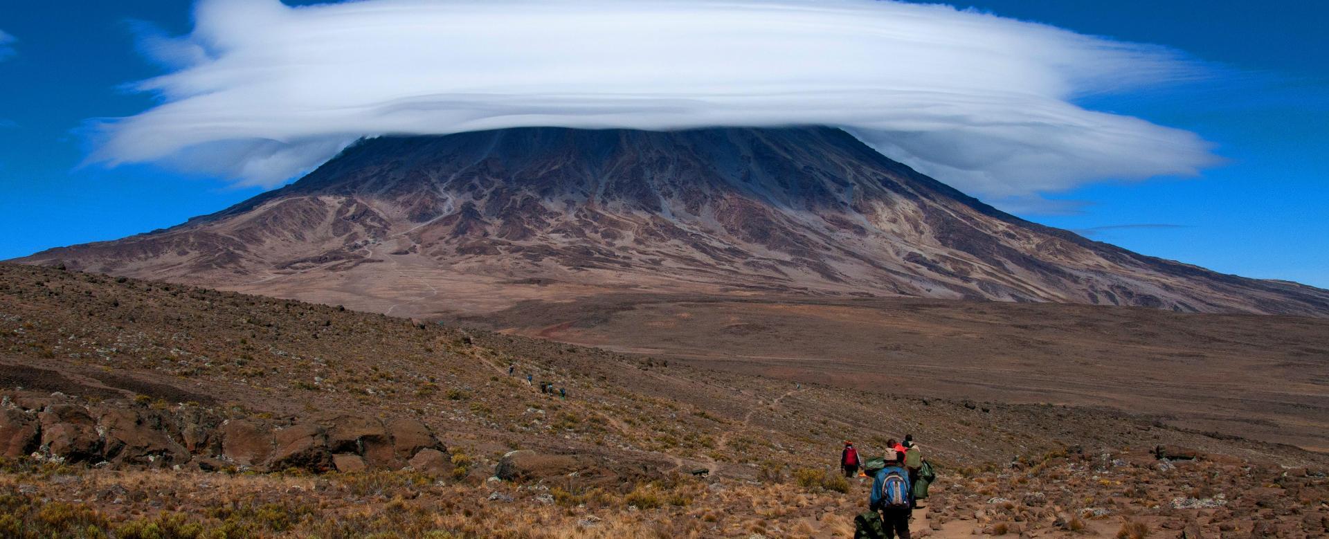 Voyage à pied Tanzanie : Mont kenya et kilimandjaro