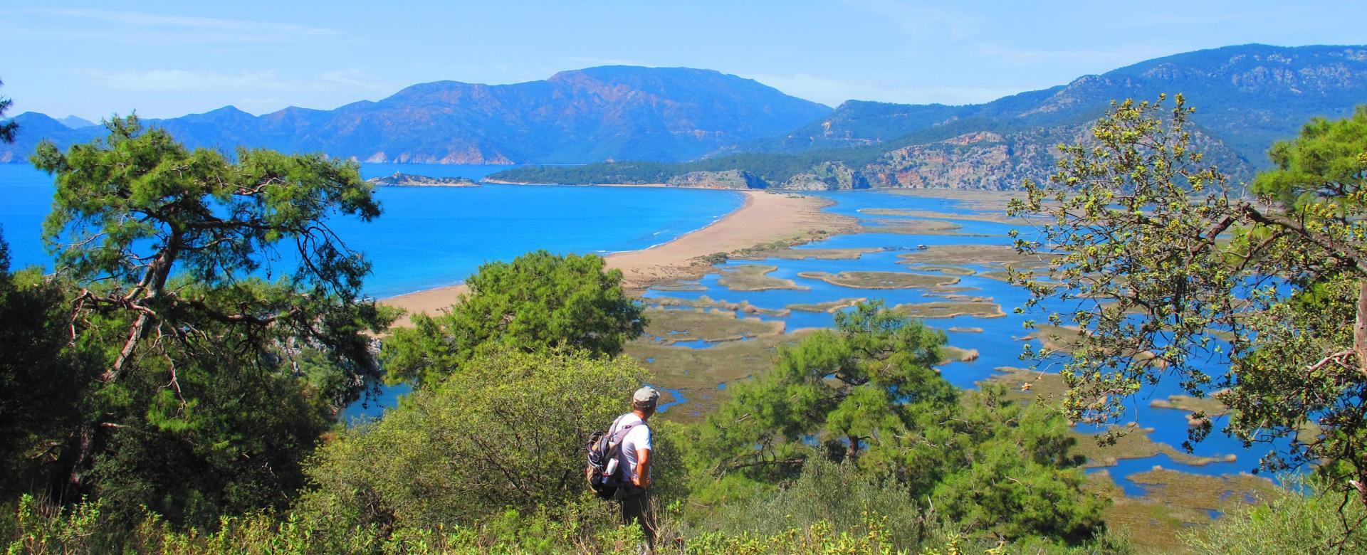Voyage à pied : La côte lycienne