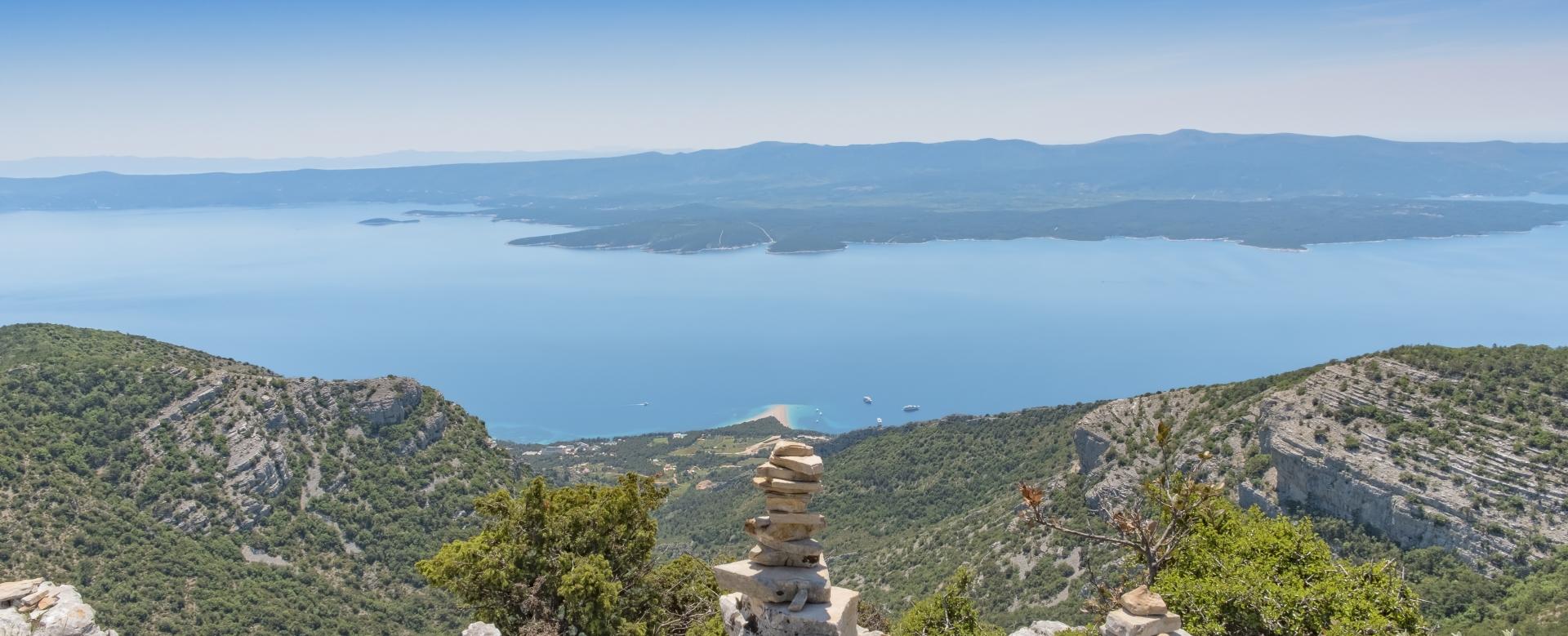 Voyage à pied : Montagnes et îles de croatie