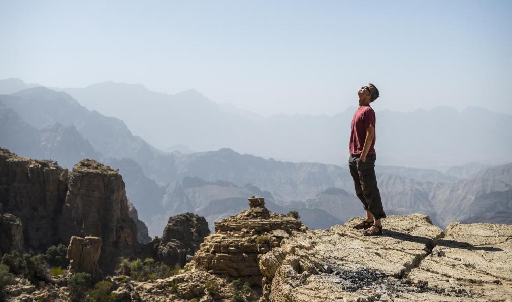 Image Djebel akhdar et océan de sables du rub al khali