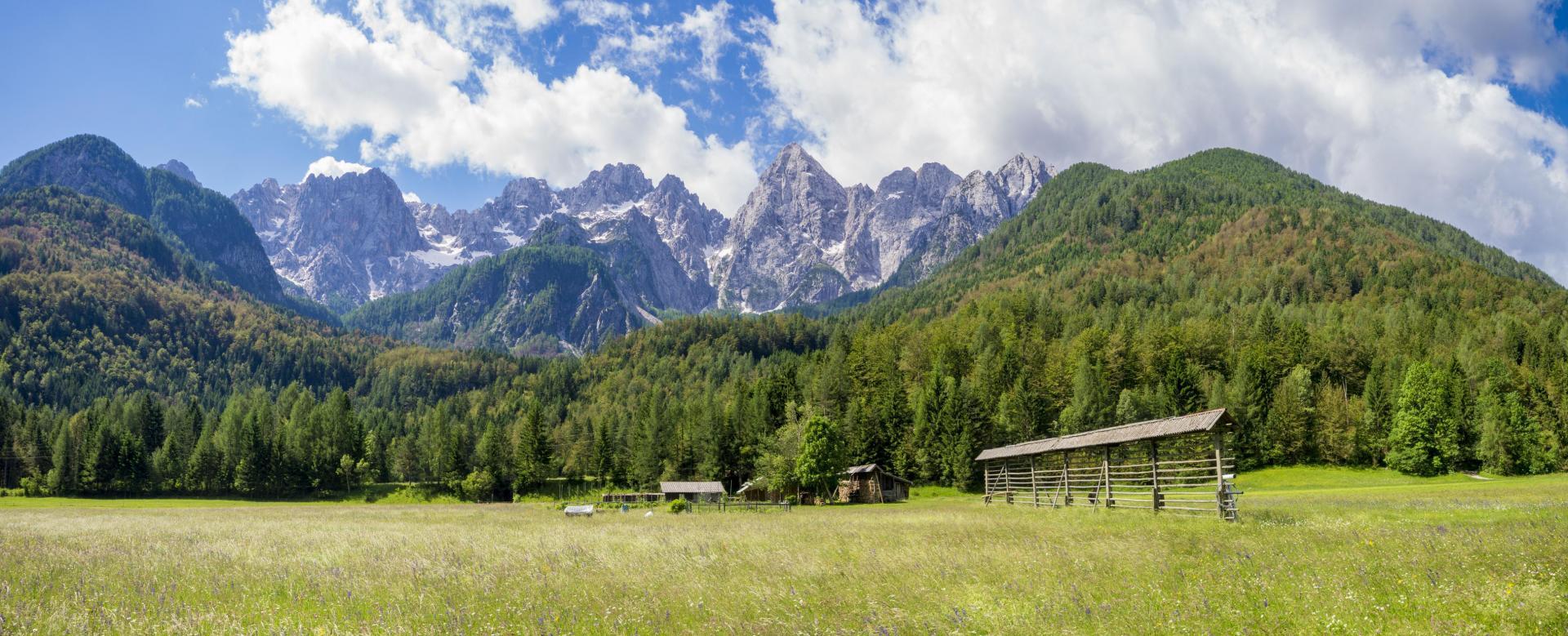 Voyage à pied Slovénie : Les alpes slovènes