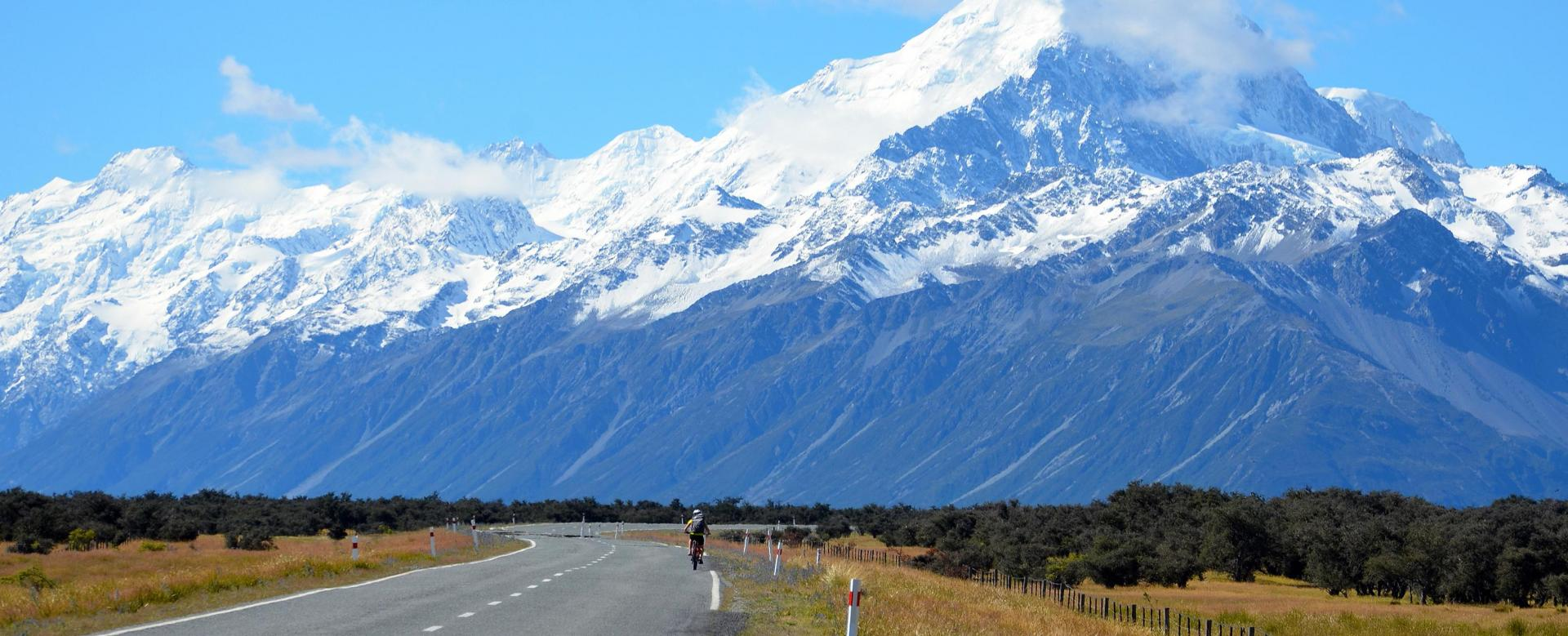Voyage en véhicule : Vélo et rando en nouvelle-zélande