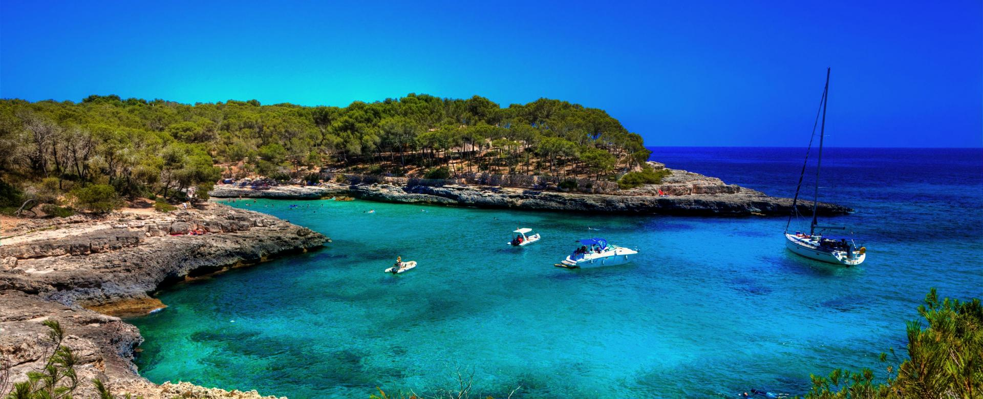 Voyage sur l'eau : La Palma : Majorque et minorque