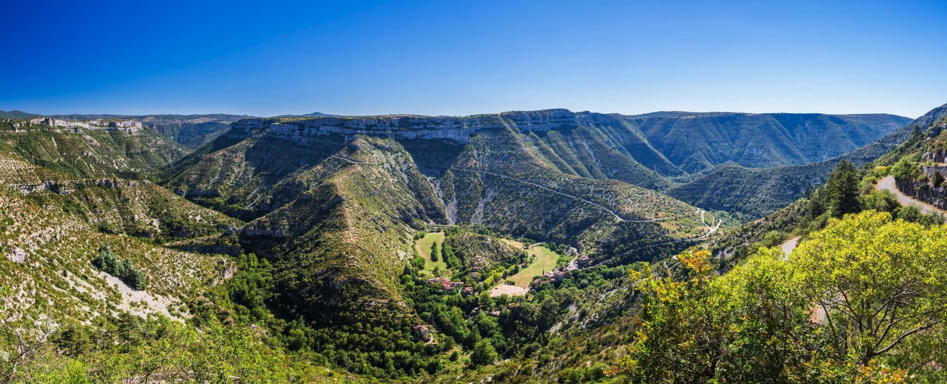 Voyage à pied France : Gtmc 4 : de l'aubrac à saint-guilhem-le-désert