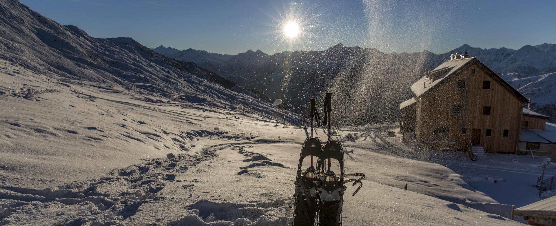 Voyage à la neige Autriche : Rando-forme dans le tyrol
