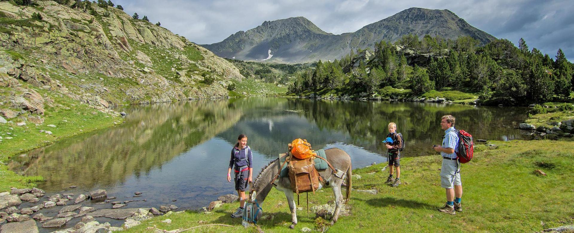 Voyage à pied : Trappeurs des pyrénées