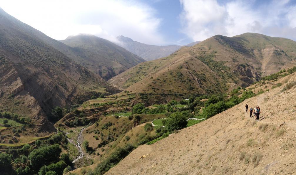 Image Montagnes, nomades et antique perse