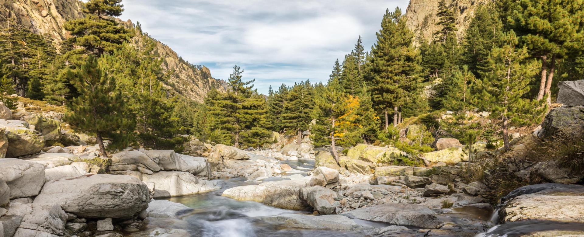 Voyage à pied : Corse : De vizzavona à calvi par les rails