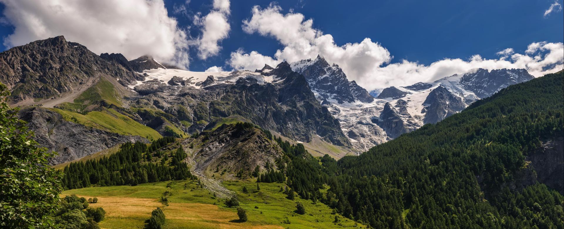 Voyage à pied : Ecrins, chalet d'en haut
