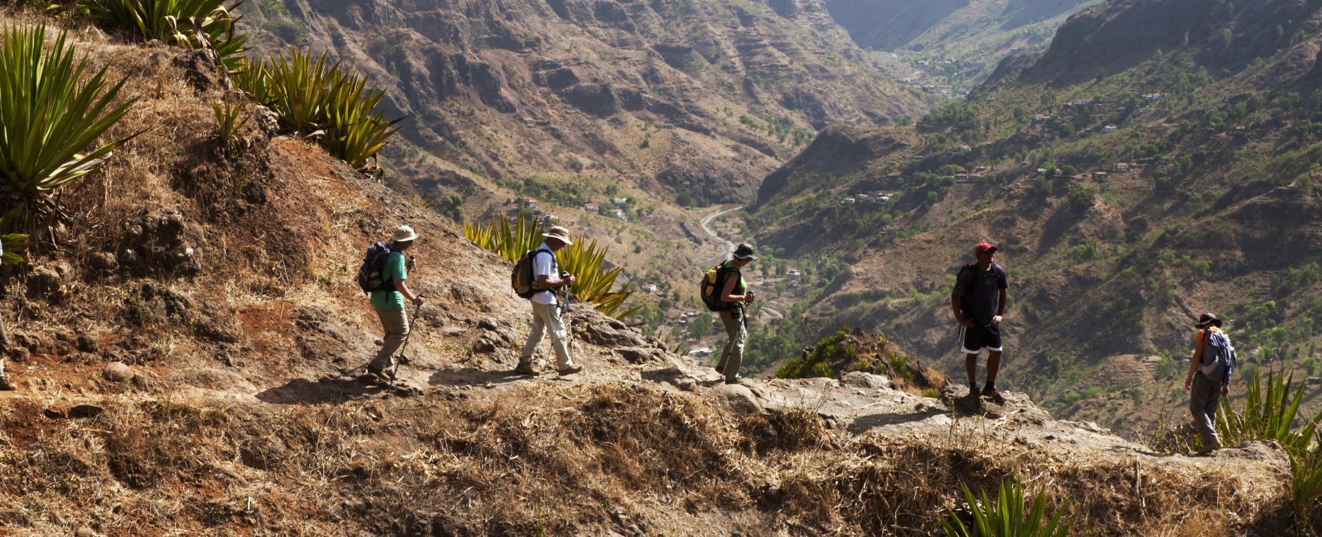 Voyage à pied : Santo antão, île de trek
