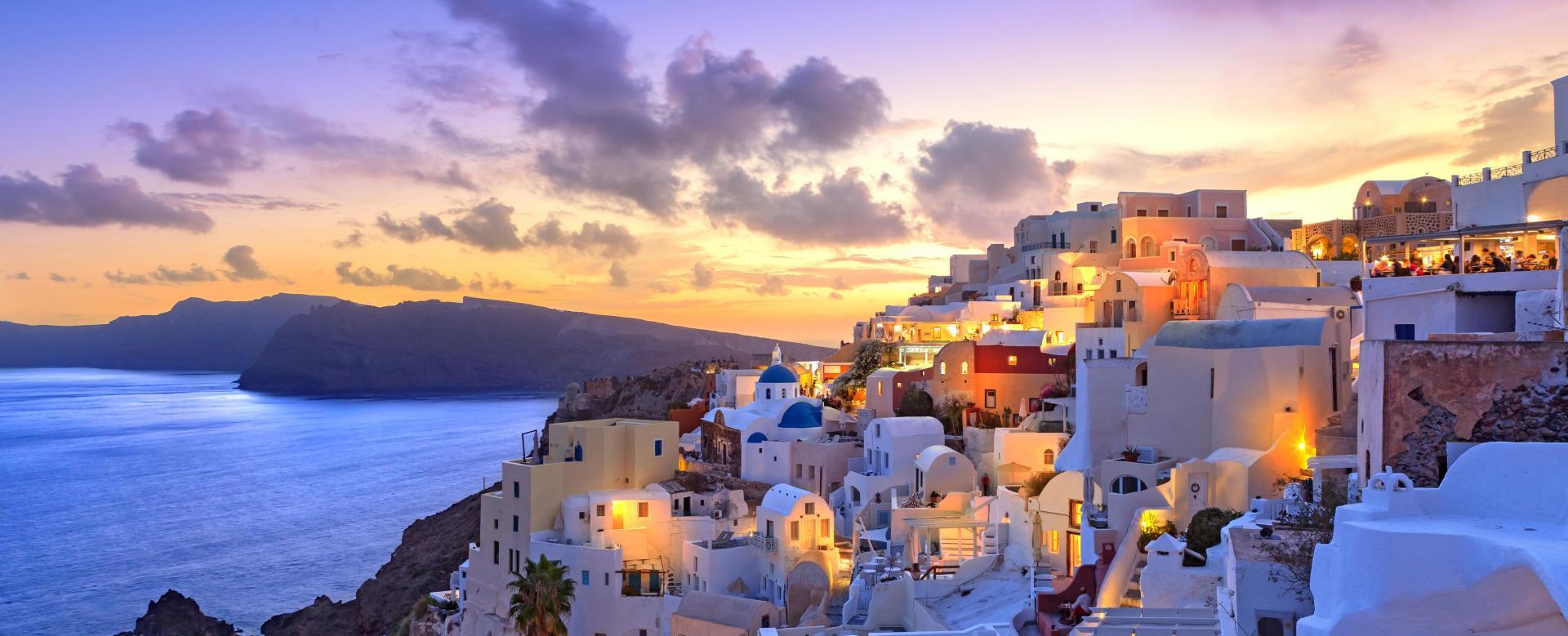 Voyage à pied : Santorin, therissia et naxos