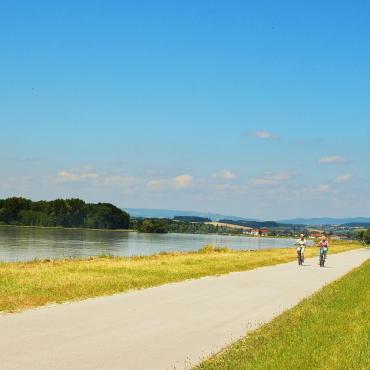 Le long du Danube à vélo en famille