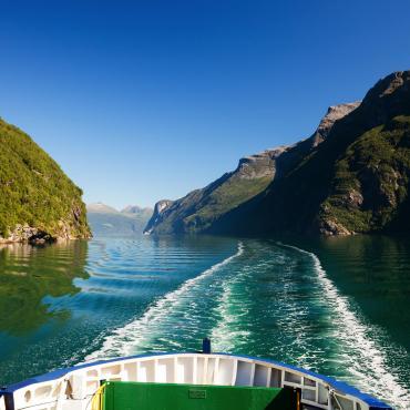 Les fjords du Sud norvégien