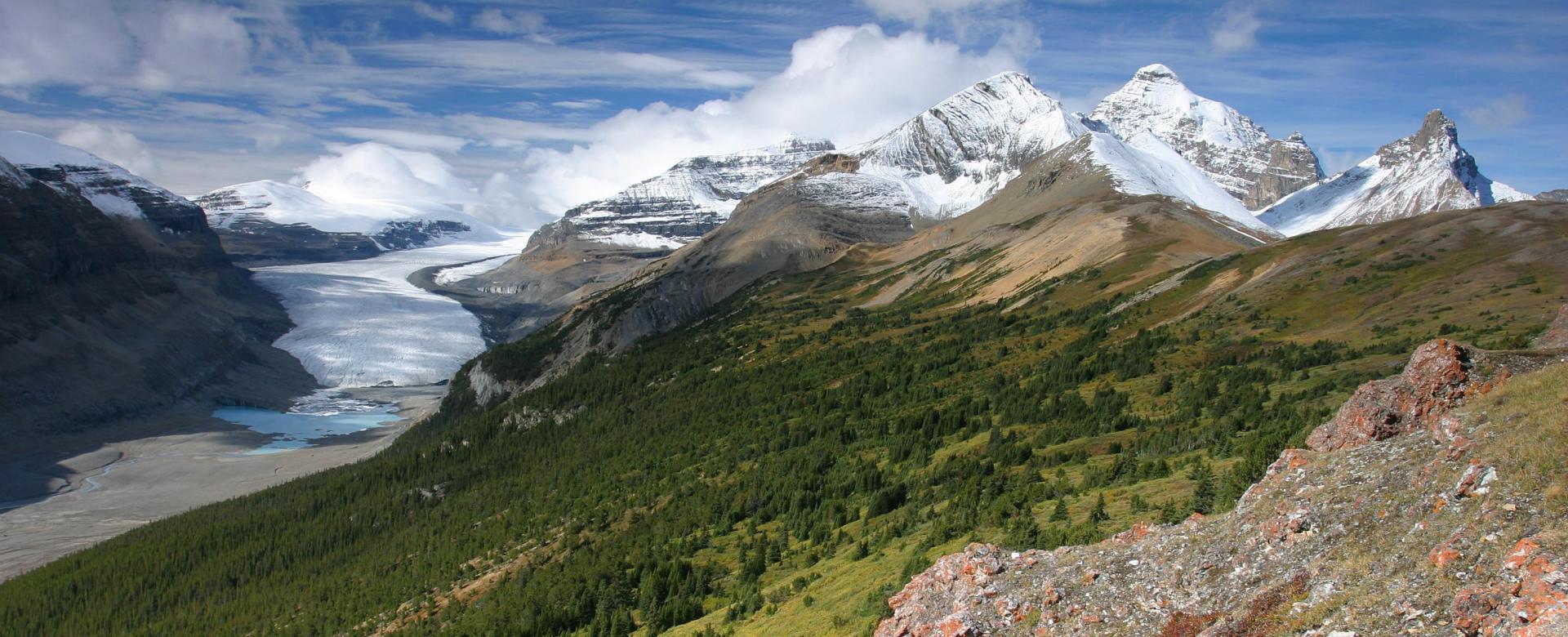 Voyage à pied Canada : De vancouver aux rocheuses canadiennes