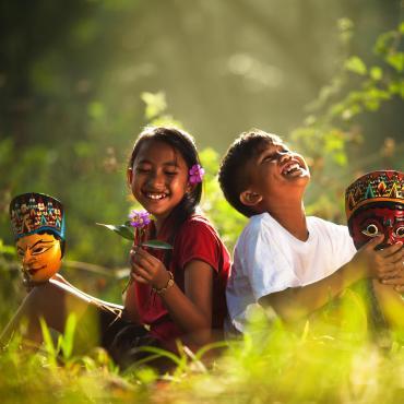 Les cerfs-volants de Bali