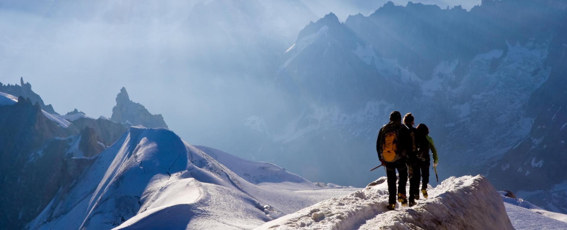 Voyage à pied France : Initiation dans le massif du mont-blanc