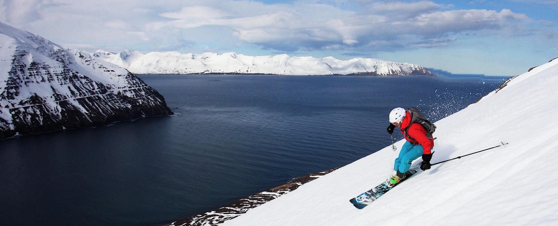 Voyage à la neige : Ski et aurores boréales au pays de feu
